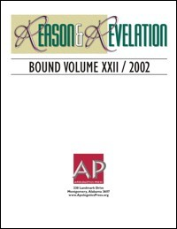 Cover of Reason and Revelation Bound Volume